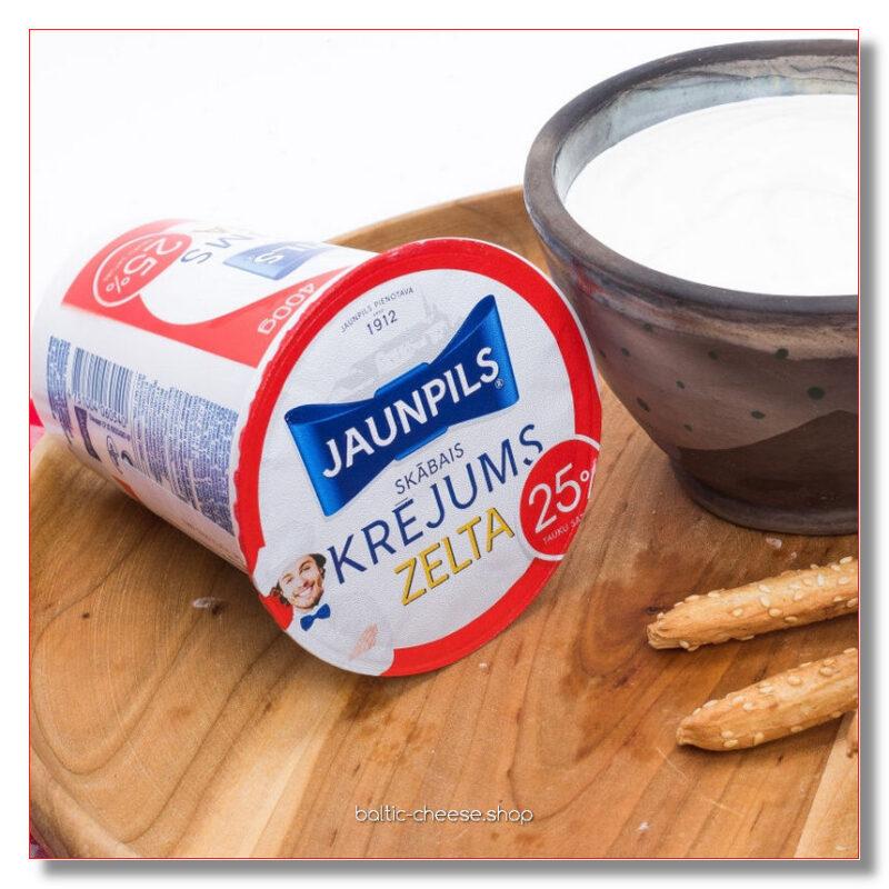 HAPUKOOR ZELTA JAUNPILS 25% RASVA 400 GR