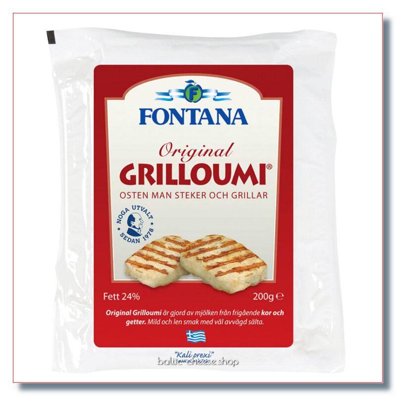 FONTANA GRILLOUMI GRILLJUUST 200 GR