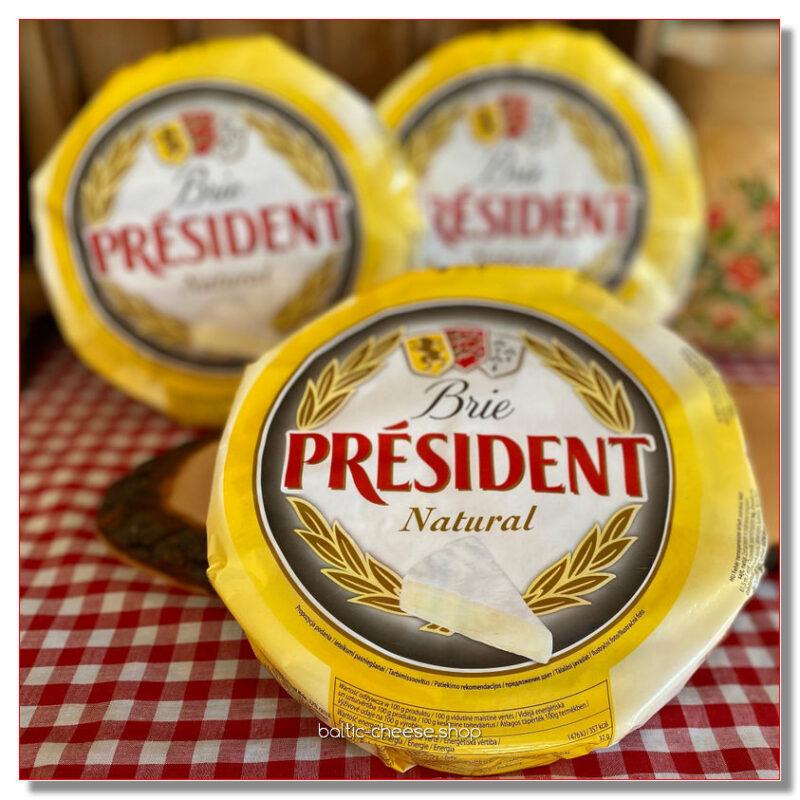 """JUUST BRIE """"PRESIDENT"""" kreekapähklitega 1 kg"""
