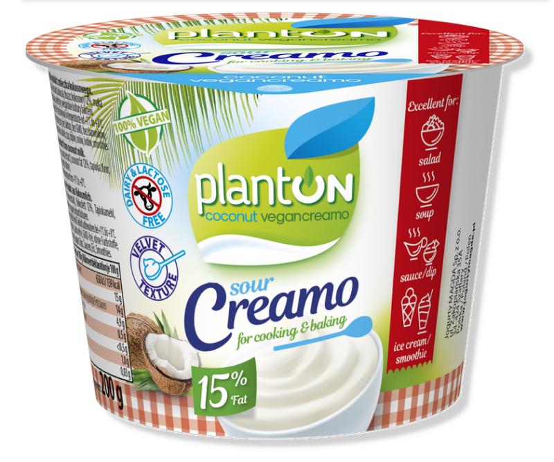 Сметана Planton Vegan из кокосового молока 200 г