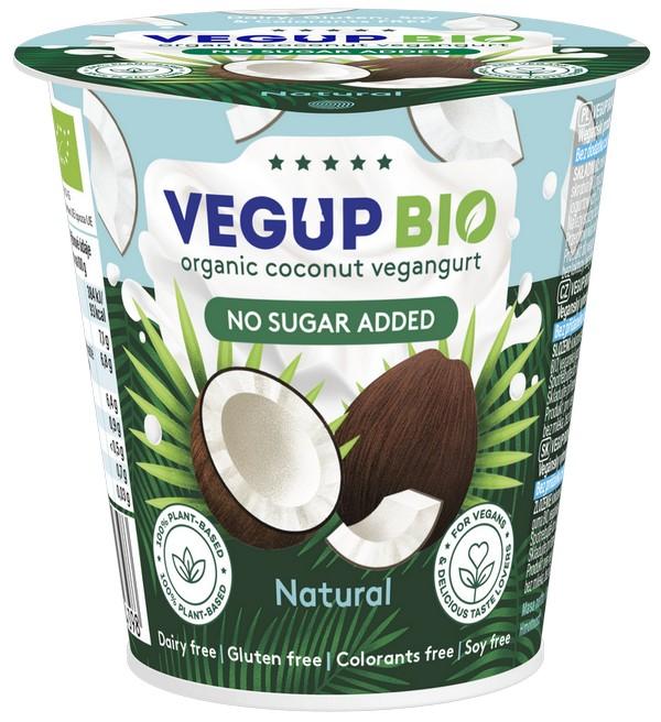 Vegup BIO вегангурт из кокосового молока ALPHONSO 140 г