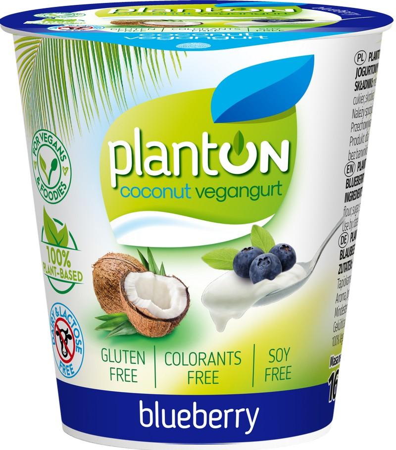 Planton vegangurt kookospiimast mustika 160 g