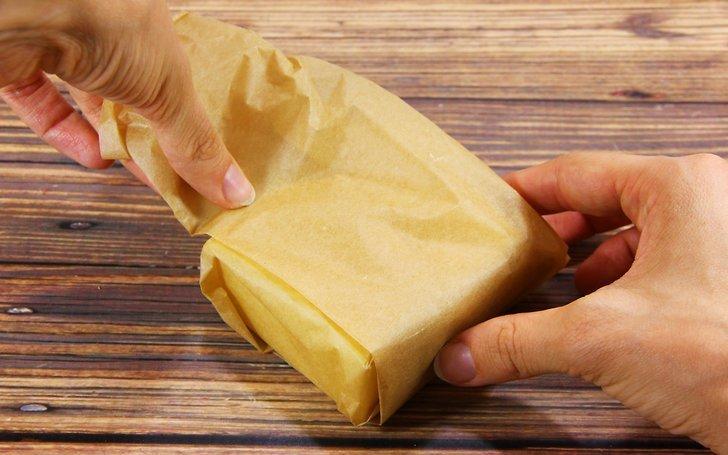 сыр в пергаменте
